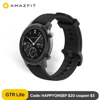 In Stock Amazfit GTR 47 Lite Smartwatch 24 Days Battery Life 5ATM Waterproof 8 sport modes for Android ios phone