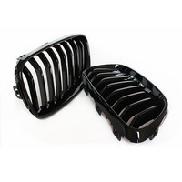 1 Pair car styling For F22 ABS carbon fiber kidney grill for BMW 2 series F23 220i 228i racing grille