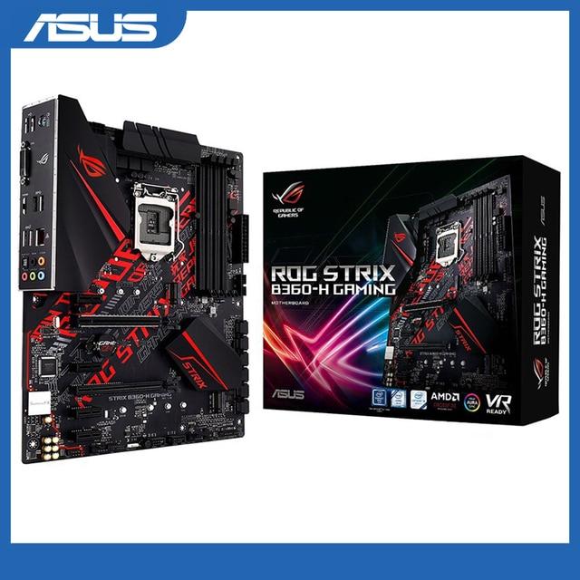Asus rog STRIX B360 H do gier płyta główna pulpitu Intel B360 LGA 1151 E gra sportowa płyta główna