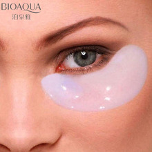 bioaqua 5 Pairs Collagen Eye Mask Face Ageless Gel Dark Circles Removal Fatigue Patch Wrinkles  Care