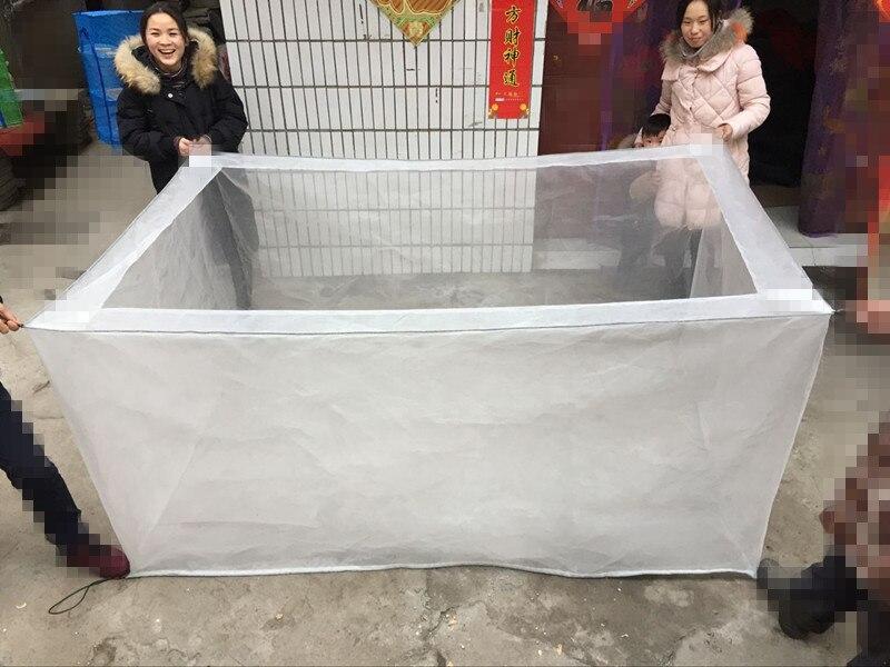 80 Mesh Net Cage Mesh Pet Fence Mesh Fishnet Breeding Net Leech Lobster Incubation Net Cage Fry Seedling Eel