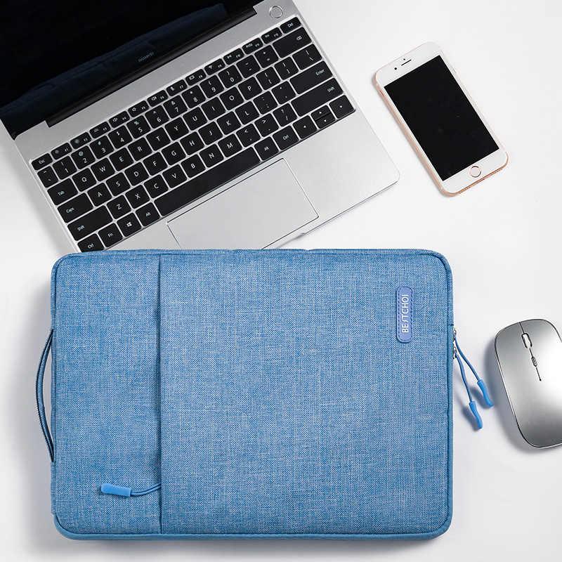แล็ปท็อปกระเป๋าถือ 12 13.3 14 15.6 นิ้วกระเป๋าโน้ตบุ๊คสำหรับ MacBook Air Pro 13 15 Huawei Dell Lenovo Xiaomi พื้นผิว Asus HP Case