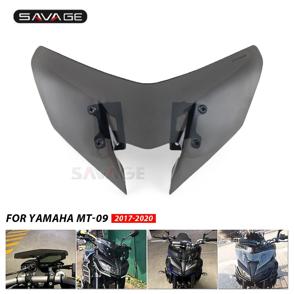 Semoic Motorcycle Windscreen Windshield Baffle Wind Deflectors for Ninja 400 2018-2019 Motorcycle Accessories