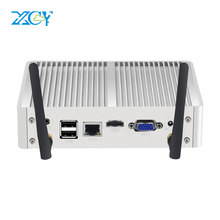 XCY 8 * USB Mini PC Fanless Mini PC Finestre 10 7 Core i7 4500U i3 4005U i5 5300U 4200Y DDR3L WiFi HDMI minipc Computer HD Grafica Nettop