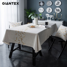 Giantex decorativo toalha de mesa toalha de mesa retangular toalhas de mesa de jantar capa de mesa obrus tafelkleed mantel mesa nappe u2249