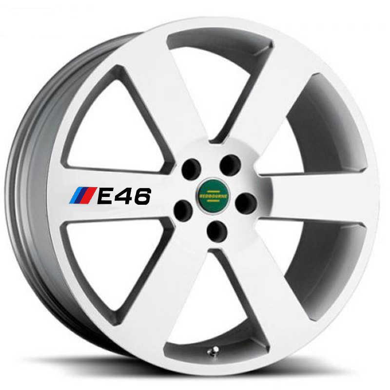 Aliauto 4 X ยางรถยนต์และขอบสติกเกอร์รูปลอกอุปกรณ์เสริมสำหรับ BMW 1 3 5 Series X1 X3 X5 X6 m3 M5 E30 E34 E36 E39 E46 E60 E90