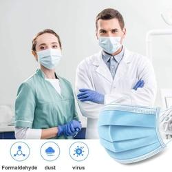 N95 Face Mask 50 Pcs Anti-virus face Masks Disposable Filter Masks KF94 FFP3 Dust 3 Laye protective Mask n95 mouth masks Pm2.5 4