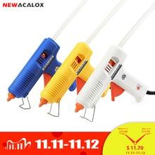 NEWACALOX 150 Вт EU DIY клеевой пистолет, 11 мм клеевой карандаш, промышленные электрические силиконовые пистолеты, термоклеевые Инструменты для ремонта