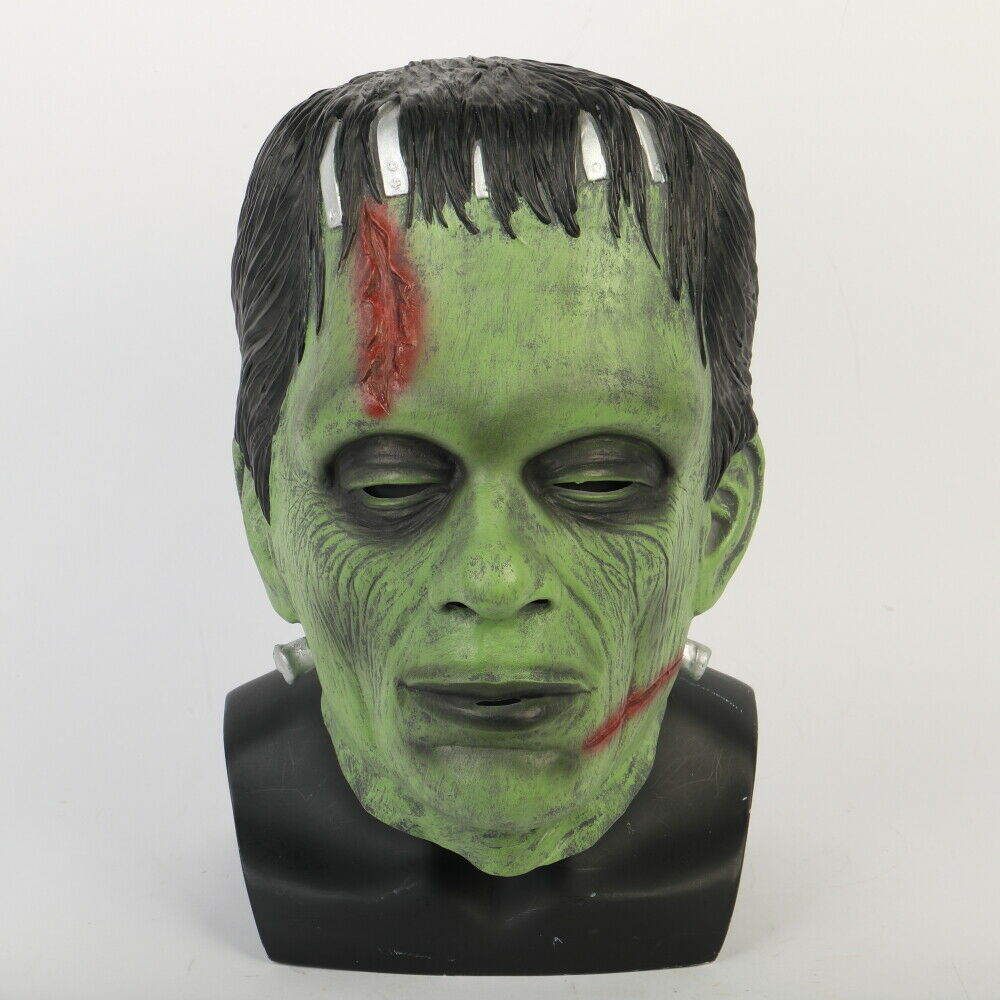 Ed Head Halloween Latex Prop Top Quality Party Blood Scary Decor 100/% new Scary