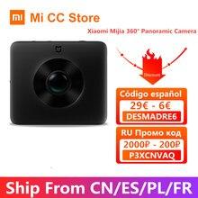 Auf Lager Xiaomi Mijia Kugel 360 ° Panorama Kamera Ambarella 3,5 K Video Aufnahme 1600mAh Ansicht Action Sport Kamera kit