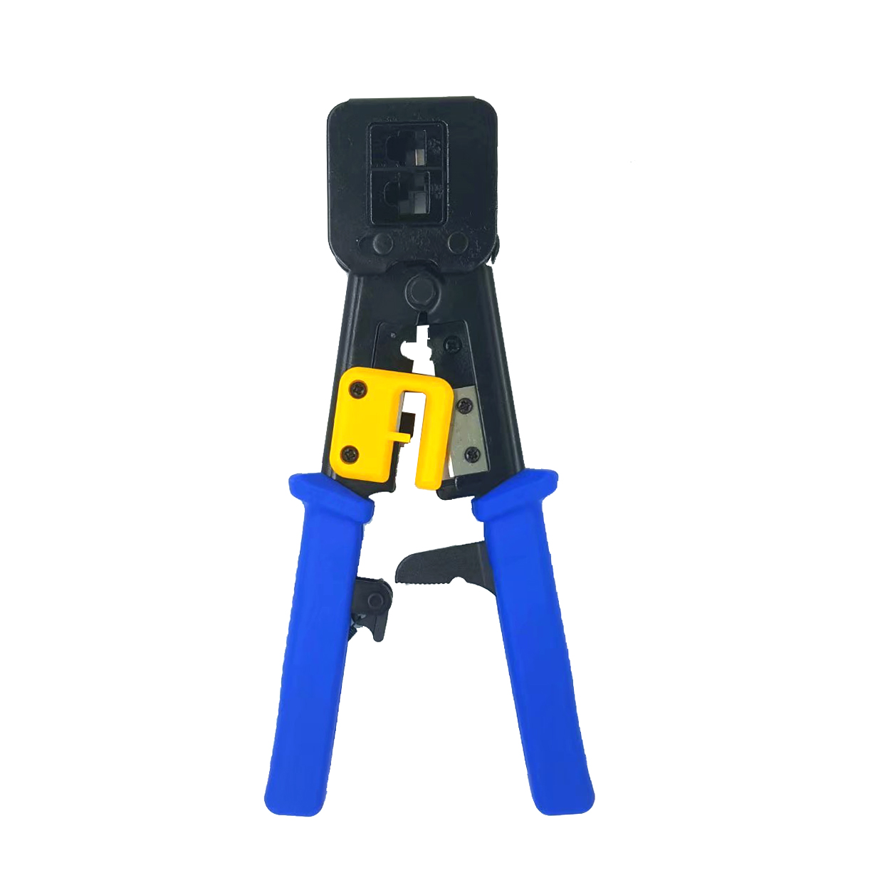 Rj45 Crimper Multi Function Pliers Network Tools Rj12 Cat5 Cat6 8p8c Cable Clip with Protector