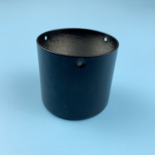 Rotary encoder special shell aluminum black with hole diameter 50mm high 45mm threaded accessories 10pcs/pack