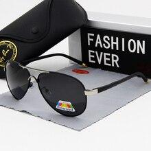 אופנה סגלגל מקוטב משקפי שמש גברים מותג מעצב נהיגה זכר הטוב ביותר שמש משקפיים שחור מסגרת משקפיים UV400