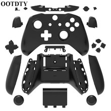 OOTDTY Shell For Xbox One Slim Replacement Full Shell And Buttons Mod Kit Matte Cover