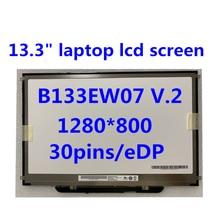 Оригинальный Для macbook pro a1278 a1342 b133ew07 v2 lp133wx3