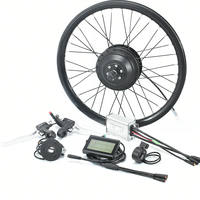 With Good Service 100mm 135mm Dropout Ebike Motor Kit, Waterproof 36v 250w LCD 3 Display BLDC Hub Motor
