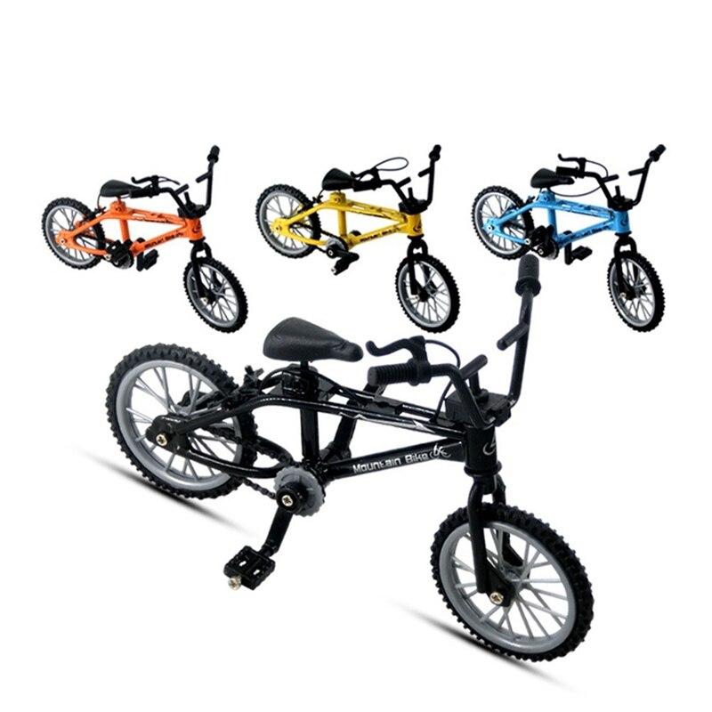 Мини Сплав палец горный велосипед ремесла Настольный Декор дети модель игрушки для детей мальчик