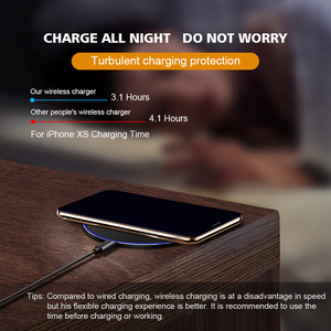 Image 5 - Qi Station de recharge sans fil pour iPhone XR Xs SE 2020 11 Pro Max Samsung Note 10 S10 S9 15W mince charge par induction rapide