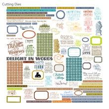 Mots de Phrase anglaise, papier velours imprimé pour Scrapbooking, bricolage, planificateur heureux, Photo, fabrication de cartes d'album, projet de journalisation