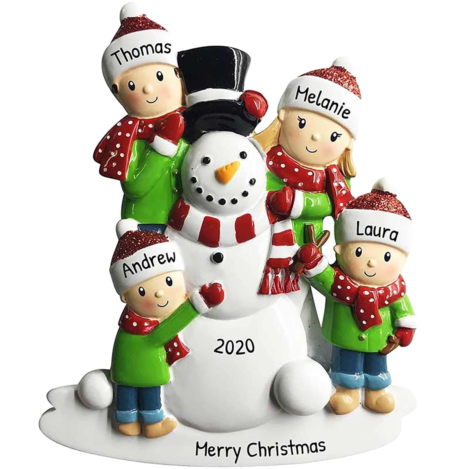 Новинка, индивидуальный заказ, сделай сам, семейная Рождественская вечеринка, украшение, Рождественская елка, милый орнамент, подарок, Новы...