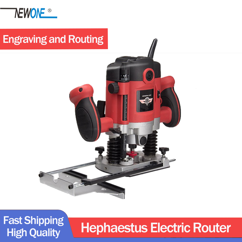1050W/1500W/2100W Power Electric Router For Woodwork With European Plugs Woodworking Trimmer Tool