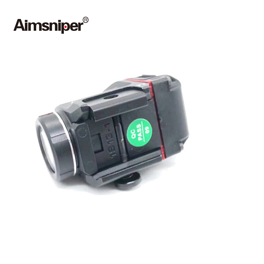 Tactical Tlr Weapon Light LED With Red Green Laser Sight Hunting Gun Flashlight Laser For Rifle Scope Pistol Glock 17 19 SIG CZ-2