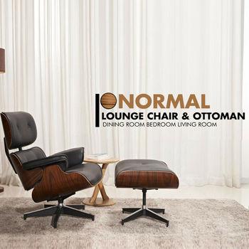 Fotel wypoczynkowy w połowie wieku i otomana najwyższej jakości skórzana Sofa z prawdziwego drewna do salonu jadalni tanie i dobre opinie Nowoczesne Meble do salonu 88x81x85 cm(34 7x31 9x33 5 inch) Lounge Chair Szezlong Meble do domu Soft Solid 34 7 in 31 9 in