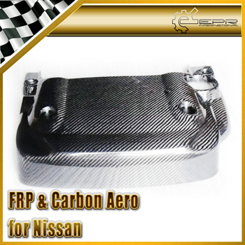 Car-styling For Nissan 350Z OEM Real Carbon Fiber Engine Cover