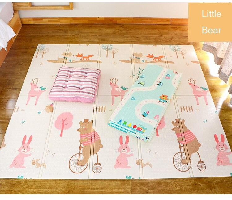 Hdfa9655d091545d18bdf8bb9fb27d4b21 XPE Environmentally Friendly Thick Baby Crawling Play mat Folding Mat Carpet Play Mat For Children's Mat Kid Rug Playmat