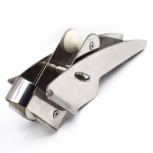 Boat 316 Stainless Steel Hinged Self Launching Bow Anchor Roller 415mm