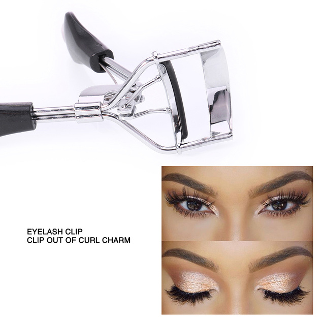 O.TWO.O Eyelash Curler Curling Mini Portable Curling Device 2 Styles Lady Cute Eyelash Nature Curl Handle Curl Eye Lash Curler 3