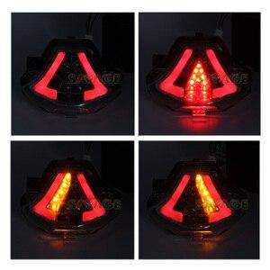Image 5 - LED para YAMAHA MT 07 FZ 07 14 17, MT 25 YZF R3 R25 2013 2018 LED integrado indicador de señal de giro trasera moto B