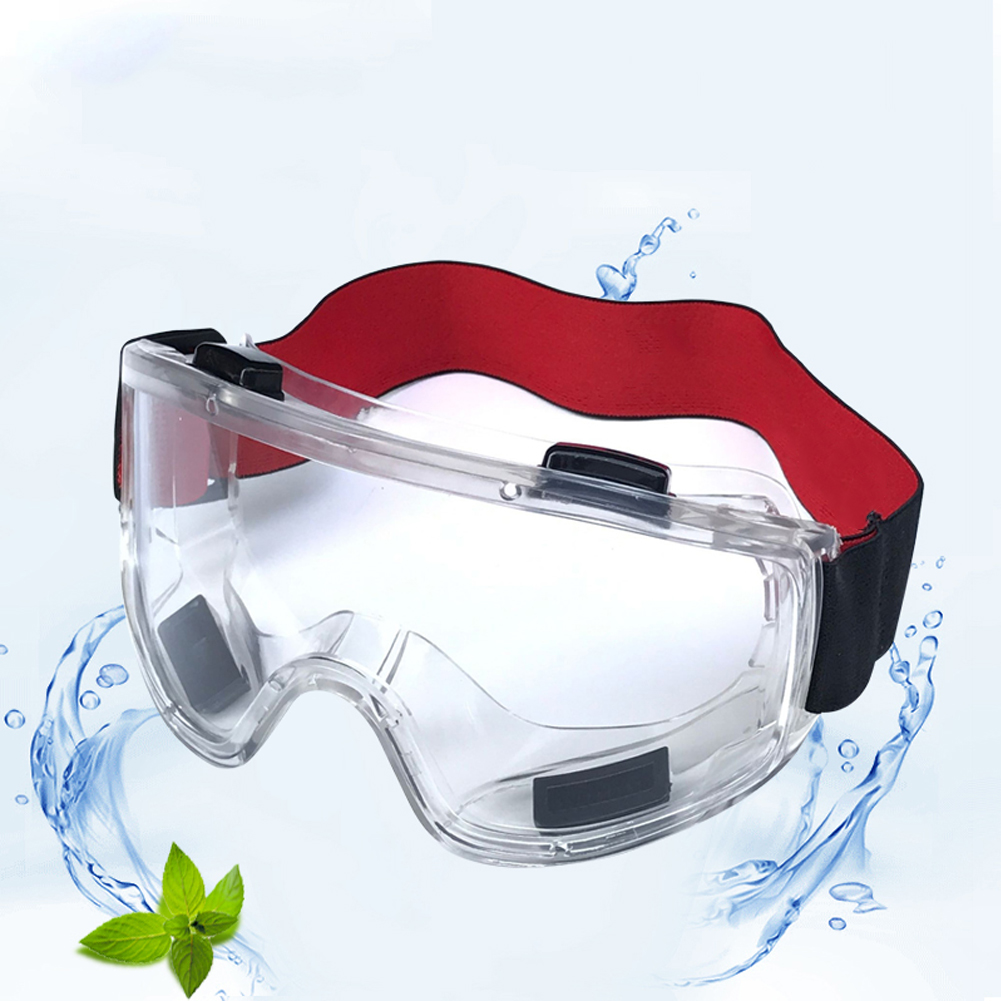 Ergonomic Protective Glasses Made Of PC And PVC Material Suitable For Construction And Riding