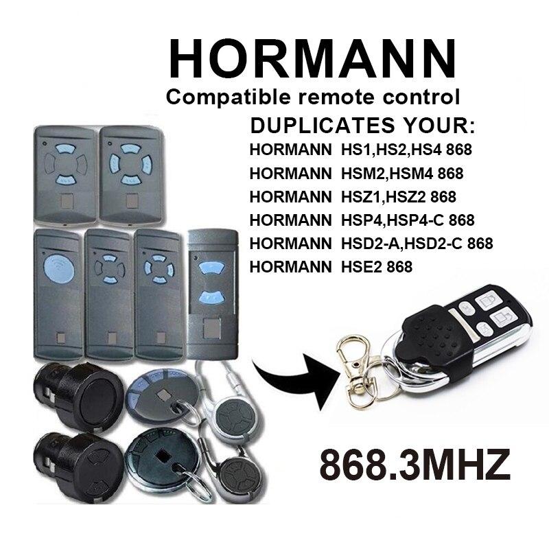 Hormann Compatible Receptor Para HS1 HS2 HS4 HSE2 HSM2 HSM4 HSP 868,3Mhz