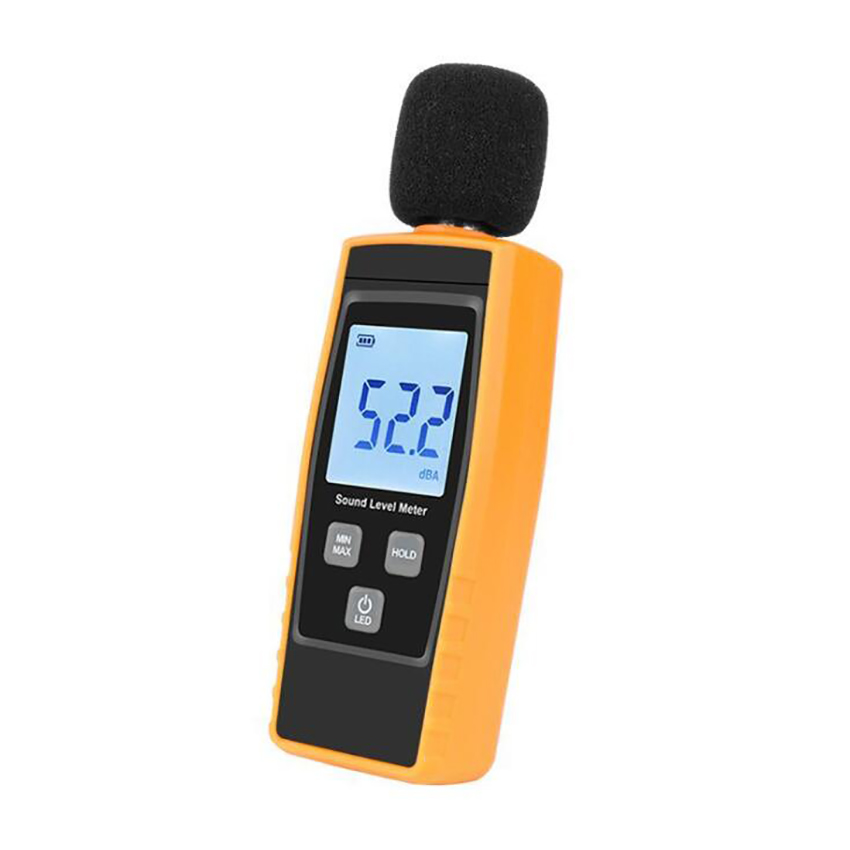 Digital Sound Level Tester Noise Meter Noise Measurement Tester Range 30~130dB Tester Support Max/Min Hold Function LCD Display|Sound Level Meters| - AliExpress