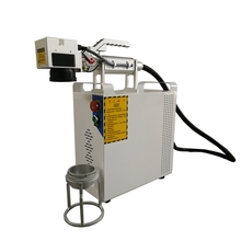 Hot Sell handheld Fiber 20W Laser Marker Air Cooling 110*110mm Marking Machine
