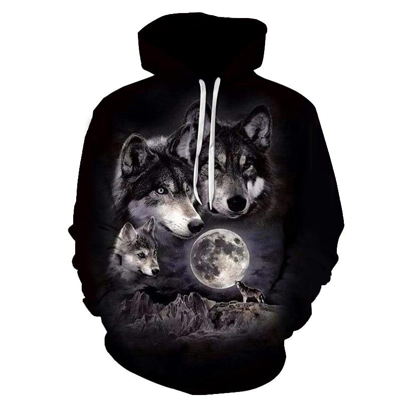 The Wolf World 3D Sweatshirt Men's Fashion Wolf Men Hip Hop Hoodies XXXTENTCAION Hoodie Dropship Unisex Pullovers Plus Size 6XL