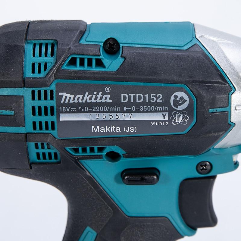 Tools : Makita DTD152Z 18V LXT  TD152D DTD152 DTD152RME DTD152RFE  Replaces for DTD146Z DTD146RME RFE RYEL Cordless Impact Driver
