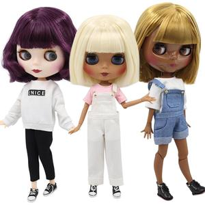 ICY 1/6 bjd factory blyth doll joint body special offer lower price DIY girl gift, 30cm naked doll random eyes colors(China)