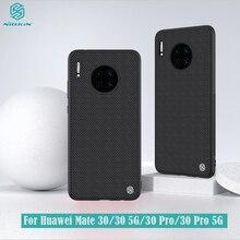 Funda con textura de nailon para Huawei Mate 30 Pro 5G, antideslizante, fina y ligera