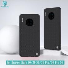 Huawei Mate 30 Pro 5G ケースカバー NILLKIN 質感ナイロン繊維ケース非スリップ薄型軽量プロテクター裏表紙 huawei 社 Mate30