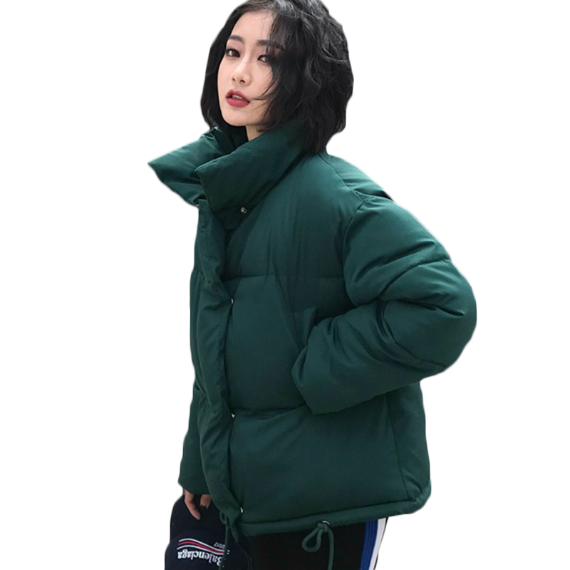 New Women Winter Coat Female Warm Down cotton jacket Women's Korean Bread service Wadded Jackets   parkas   Female jacket coats F884