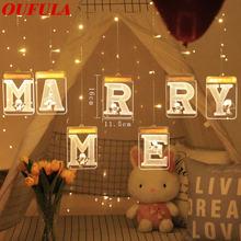 Usb 3d День Святого Валентина праздничные светодиодные лампы
