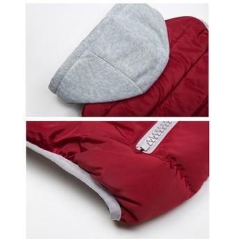 Winter Coat Women Hooded Warm 5