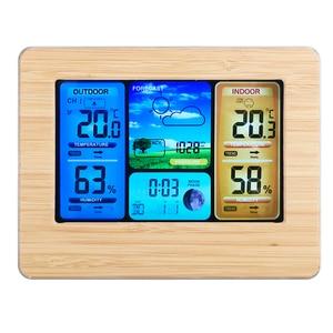 Wireless Weather Clock Digital