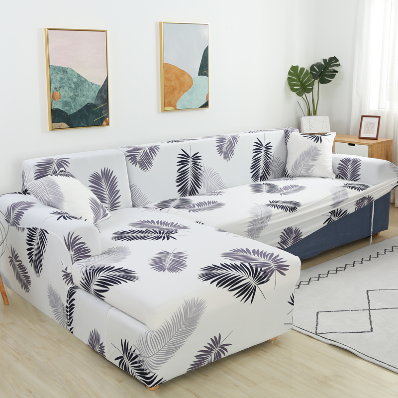leaves printed sofa covers for living room couch cover corner sofa cover chairlong cover for sofa