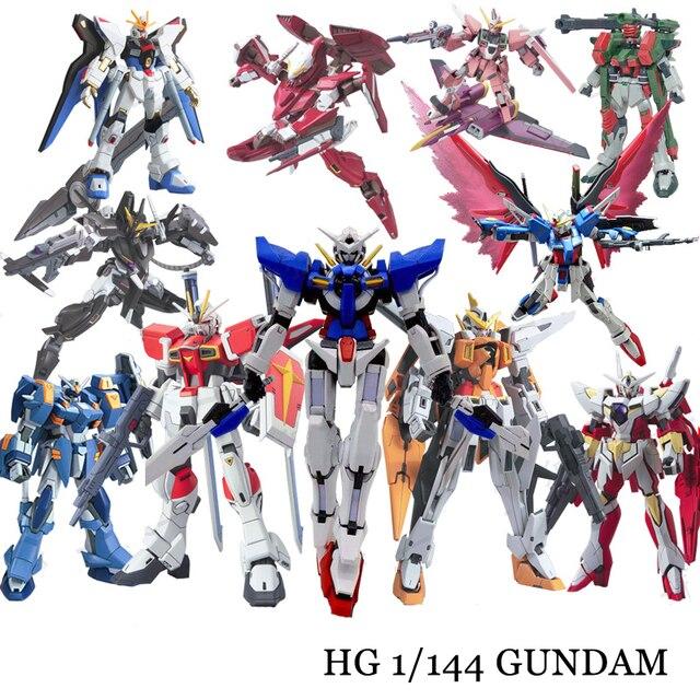 Anime Gaogao 13 centimetri HG 1/144 Wing Gundam Fenice XXXG 01WF Modello Hot Kids Toy Action Figuras Assemblato Phoenix Robot Di Puzzle regalo