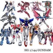 Anime Gaogao 13cm HG 1/144 kanat Gundam Fenice XXXG 01WF Model sıcak çocuklar oyuncak aksiyon Figuras monte Phoenix Robot bulmaca hediye