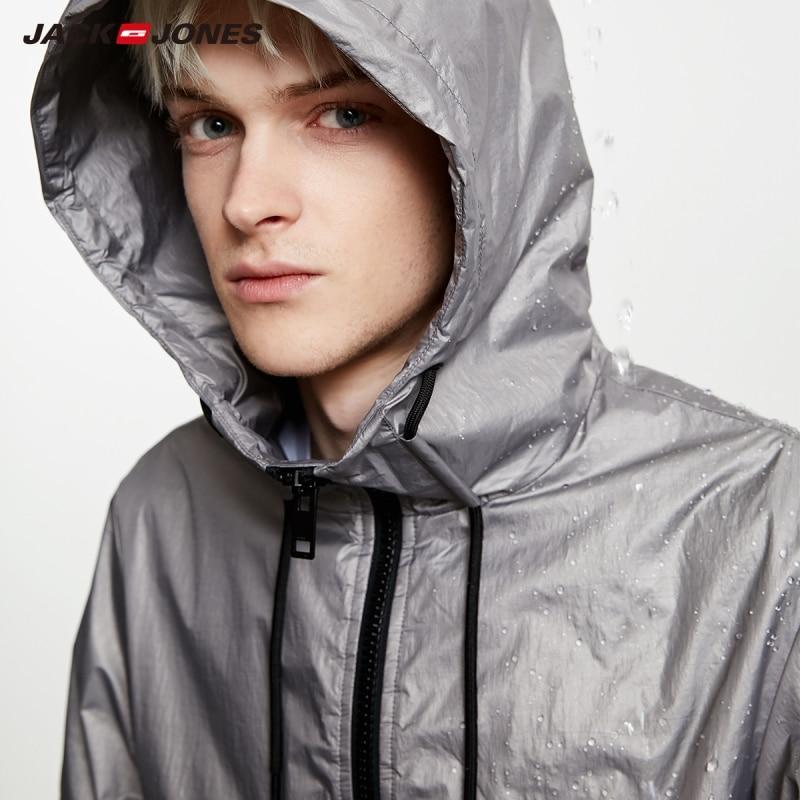 JackJones Men's Light-weight Functional Sports Coat Jacket| 219121524