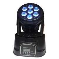 free shipping 2pcs 7x10w moving head wash led stage lighting pro cheap offering dmx512 4/12ch wedding party club light